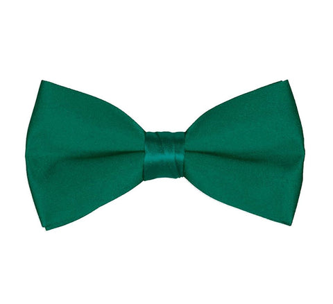 Men's Classic Pre-Tied Formal Tuxedo Bow Tie - Emerald Green