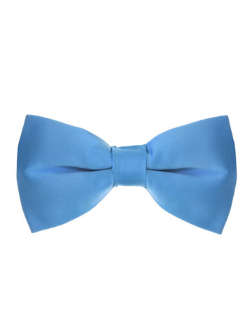 Men's Classic Pre-Tied Formal Tuxedo Bow Tie - Light Blue