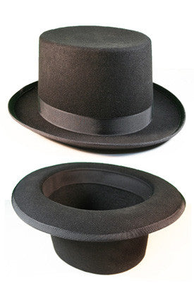 Black Formal Top Hat for Tails