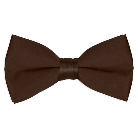 Chocolate Brown Tuxedo Bow Tie
