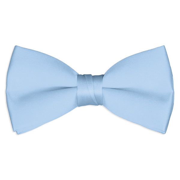 Light Blue Tuxedo Bow Tie