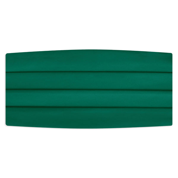 Emerald Green Cummerbund
