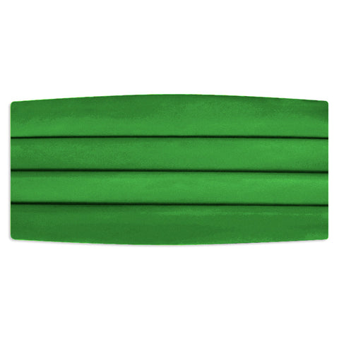 Kelly Green Cummerbund