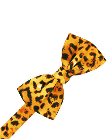 Jaguar Print Formal Bow Tie