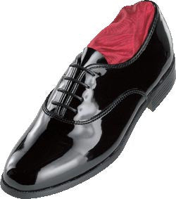 Black (Jazz Oxford) Tuxedo Shoes