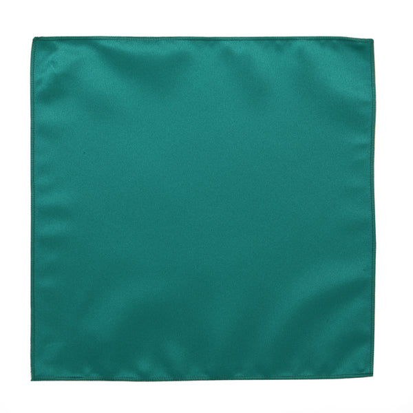 Deluxe Satin Formal Pocket Square (Teal)