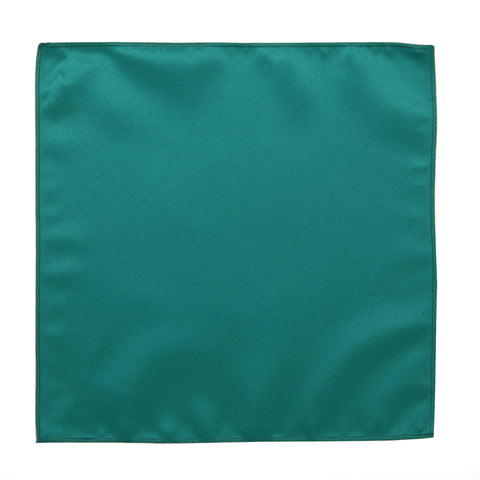 Deluxe Satin Formal Pocket Square (Teal )