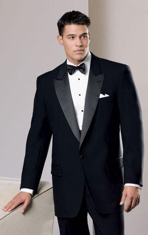 Neil Allyn Tuxedo with Peak Lapel - 100% Worsted Wool