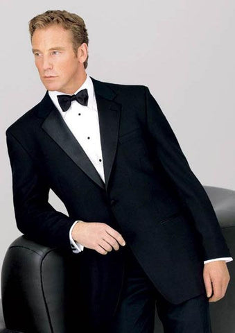 Big and Tall Neil Allyn 2 Button Notch Tuxedo - 100% Worsted Wool for Big Men