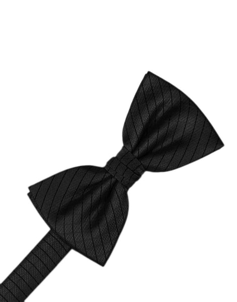 Black Diamond Grid Pattern Formal Bow Tie