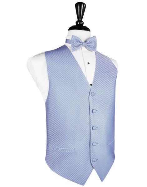 Cornflower Blue Palermo Tuxedo Vest and Tie Set