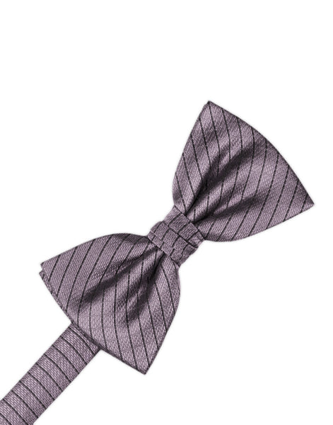 Heather Diamond Grid Pattern Formal Bow Tie