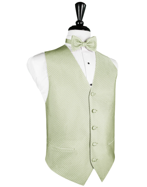 Mint Palermo Tuxedo Vest and Tie Set