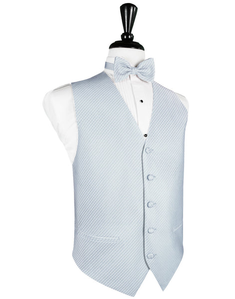 Powder Blue Palermo Tuxedo Vest and Tie Set