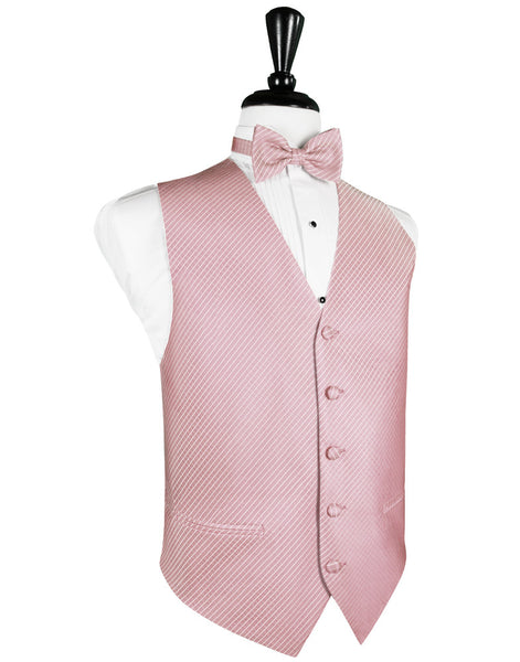 Rose Palermo Tuxedo Vest and Tie Set
