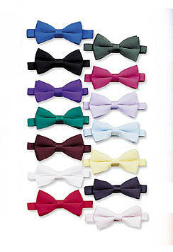 Tuxedo Bow Tie - Men's Formal Bow Tie (White)