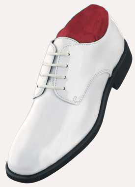 White (Radio City) Tuxedo Shoes