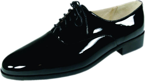 Mens Black Patent Leather (Roma) Formal Shoes by Frederico Leone
