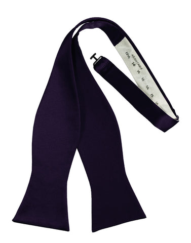 "Amethyst ""Premier"" Satin Self-Tie Formal Bow Tie"