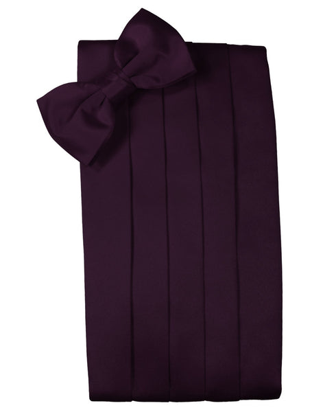 "Berry ""Premier"" Satin Cummerbund Set"