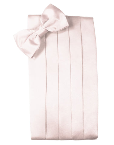 "Blush ""Premier"" Satin Cummerbund Set"
