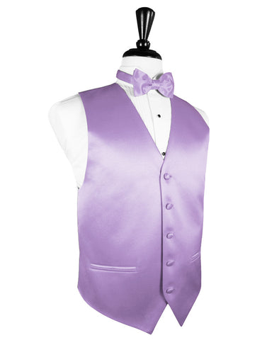 "Heather ""Premier"" Satin Tuxedo Vest"