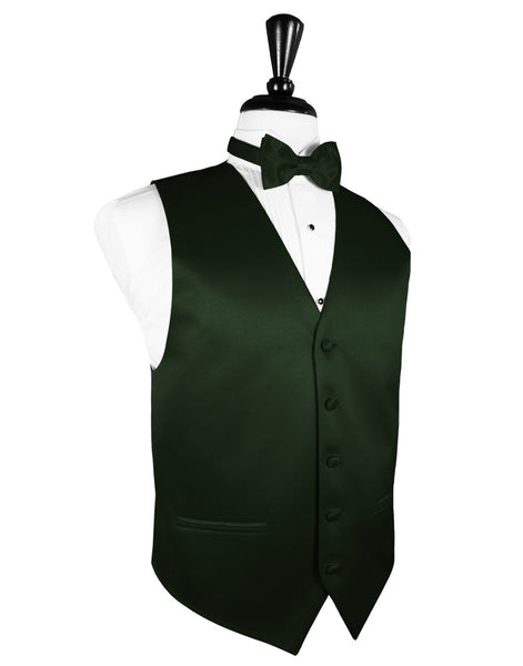 "Holly ""Premier"" Satin Tuxedo Vest and Tie Set"