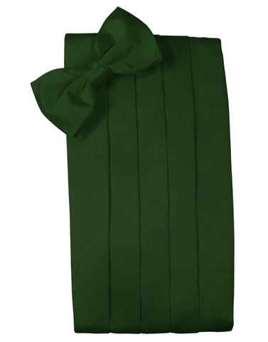 "Hunter Green ""Premier"" Satin Cummerbund Set"