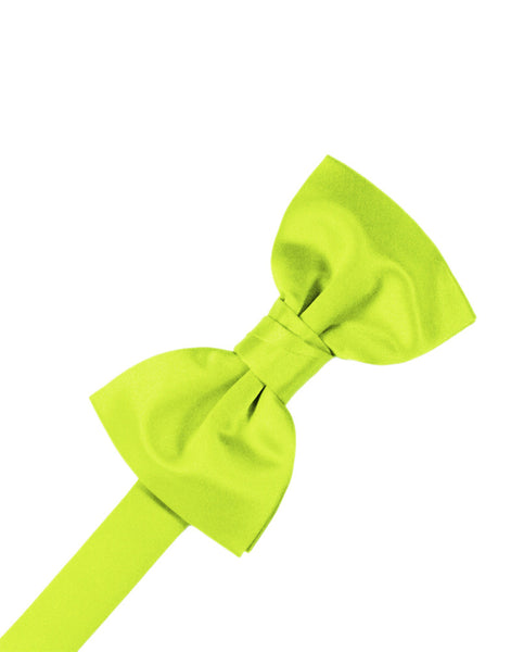 "Lime ""Premier"" Satin Formal Bow Tie"