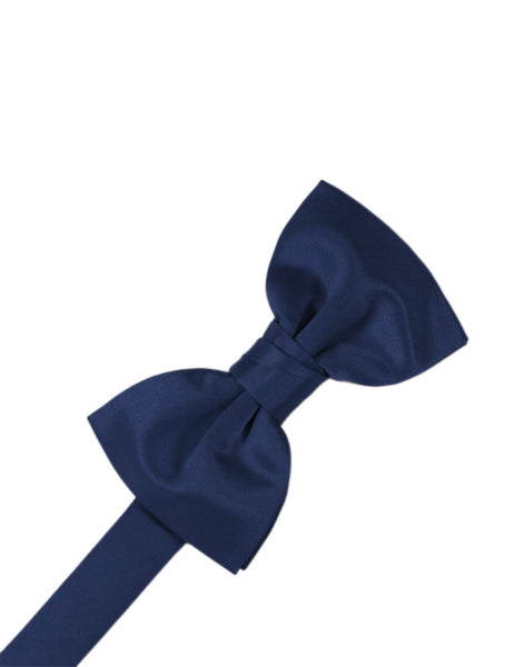 "Peacock ""Premier"" Satin Formal Bow Tie"
