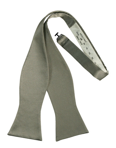 Platinum Noble Silk Self-Tie Bow Tie