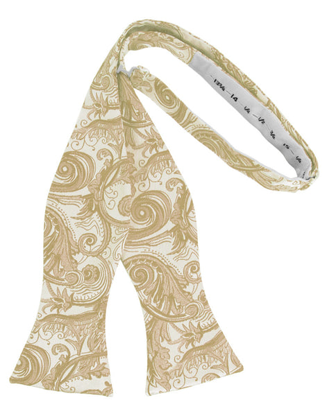 Bamboo Tapestry Self-Tie Formal Bow Tie