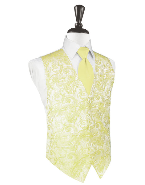 Banana Tapestry Tuxedo Vest and Tie Set