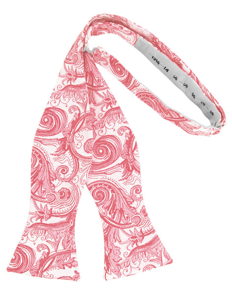 Guava Tapestry Self-Tie Formal Bow Tie