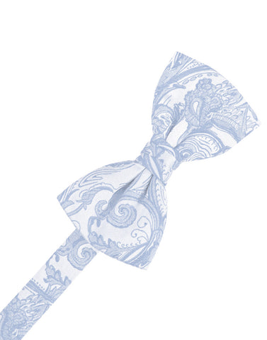 Light Blue Tapestry Formal Bow Tie