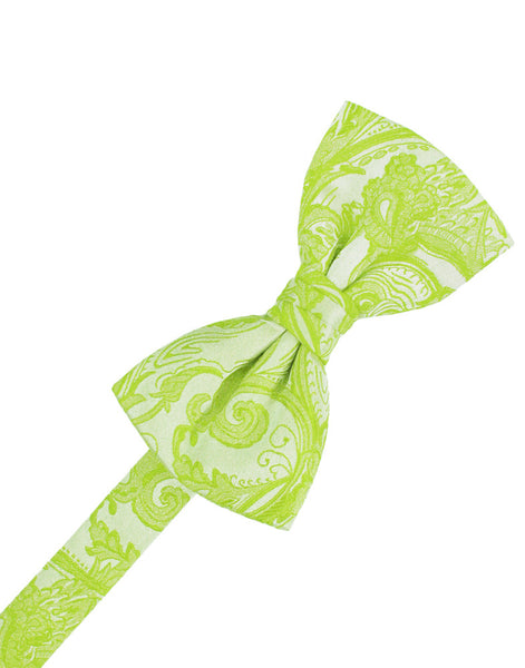 Lime Tapestry Formal Bow Tie