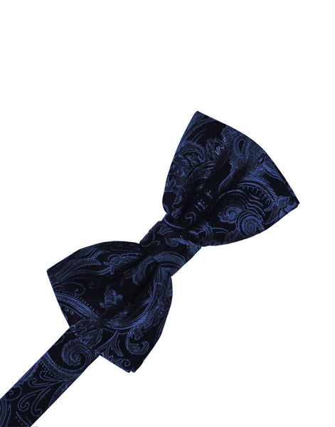 Midnight Blue Tapestry Formal Bow Tie