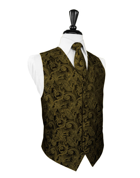 d1bb9669b477 New Gold Tuxedo Vest | Tapestry Pattern | On Sale Now! | Fine Tuxedos