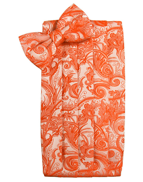 "Persimmon Tapestry Cummerbund Set in ""Premier"" Satin"