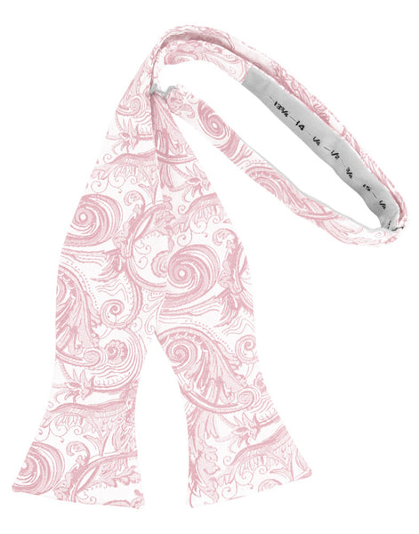 Pink Tapestry Self-Tie Formal Bow Tie