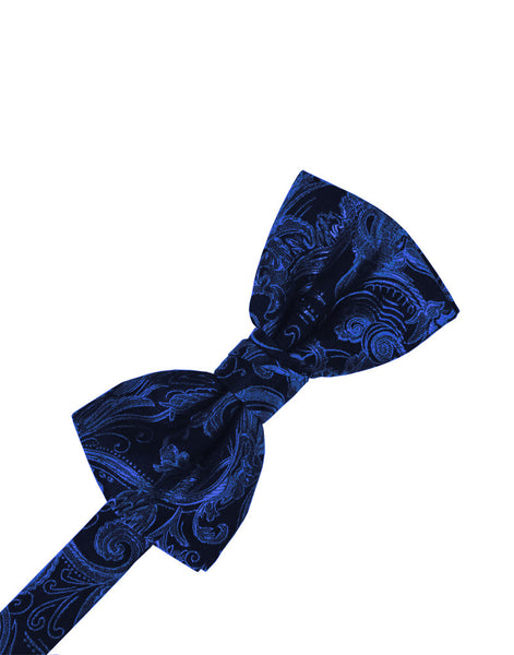 Royal Blue Tapestry Formal Bow Tie