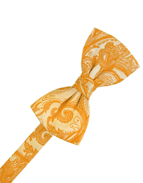 Tangerine Tapestry Formal Bow Tie