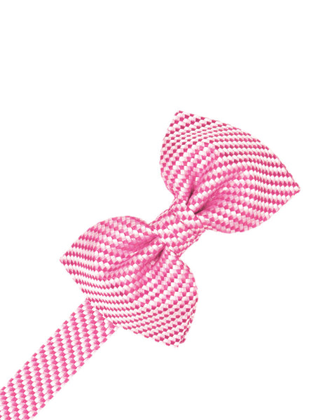Bubblegum Venetian Formal Bow Tie