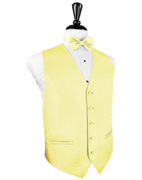 Buttercup Venetian Tuxedo Vest and Tie Set