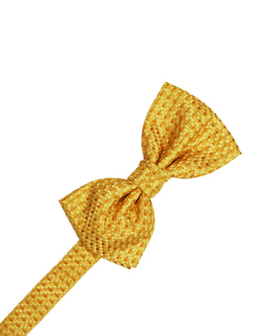 Gold Venetian Formal Bow Tie
