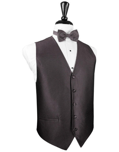 Heather Venetian Tuxedo Vest and Tie Set