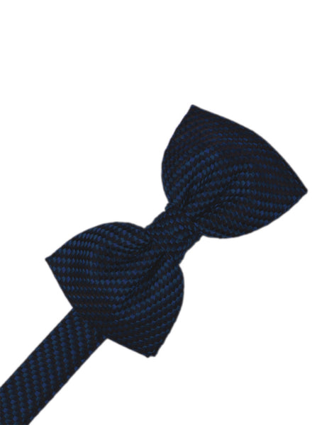 Navy Venetian Formal Bow Tie