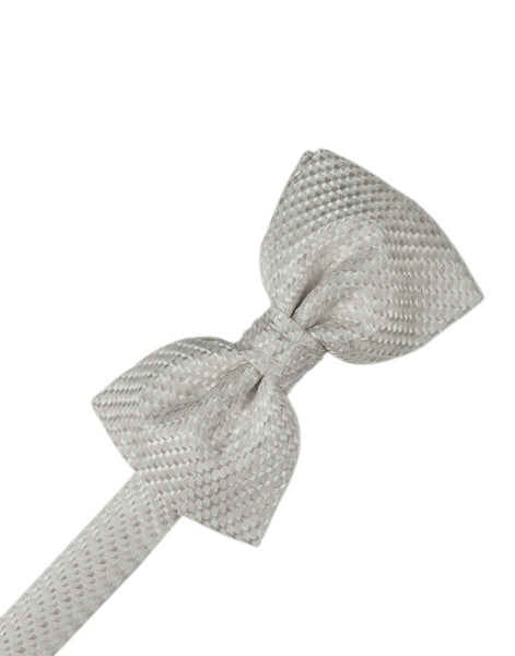 Platinum Venetian Formal Bow Tie