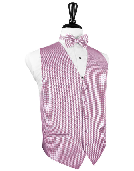 Rose Venetian Tuxedo Vest and Tie Set