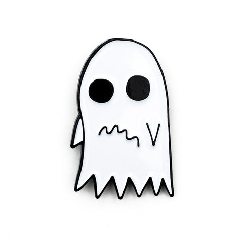 Anxious Ghost Pin